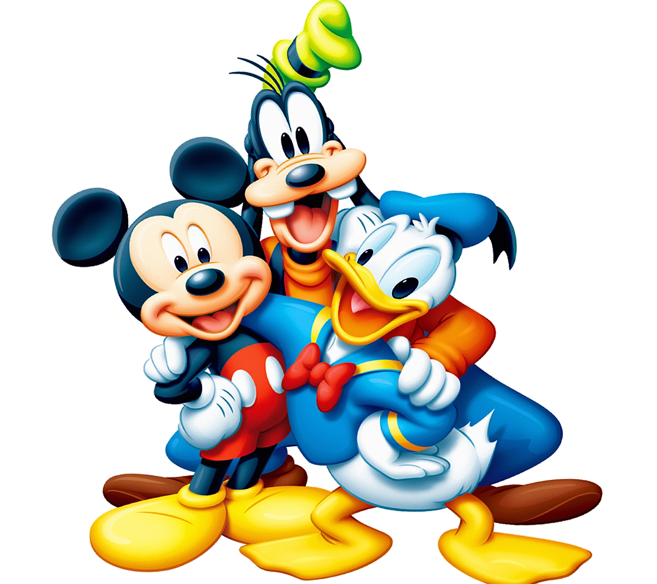 2160x1920 Mickey Mouse Donald Duck Hd Wall Paper
