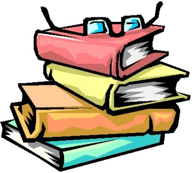 388x349 A Stack Of Books Free Clipart Images