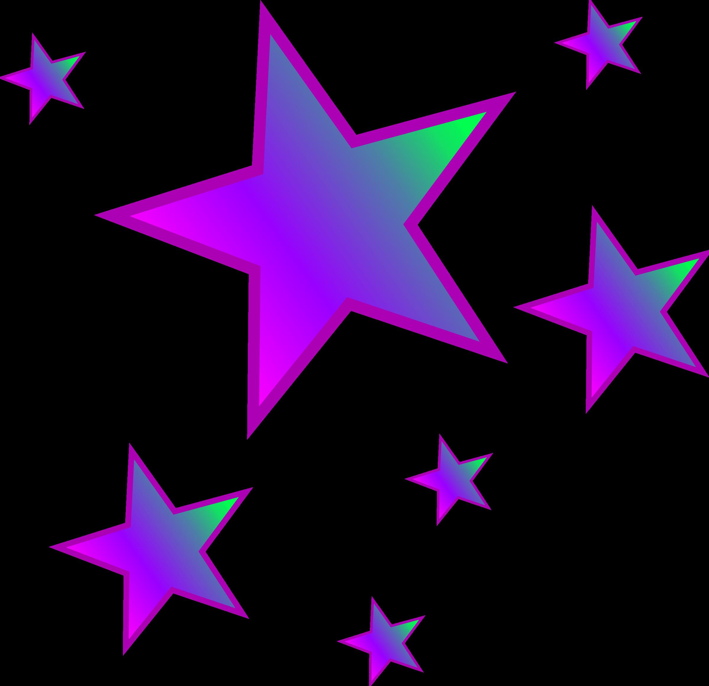 2400x2320 Clip Art Stars