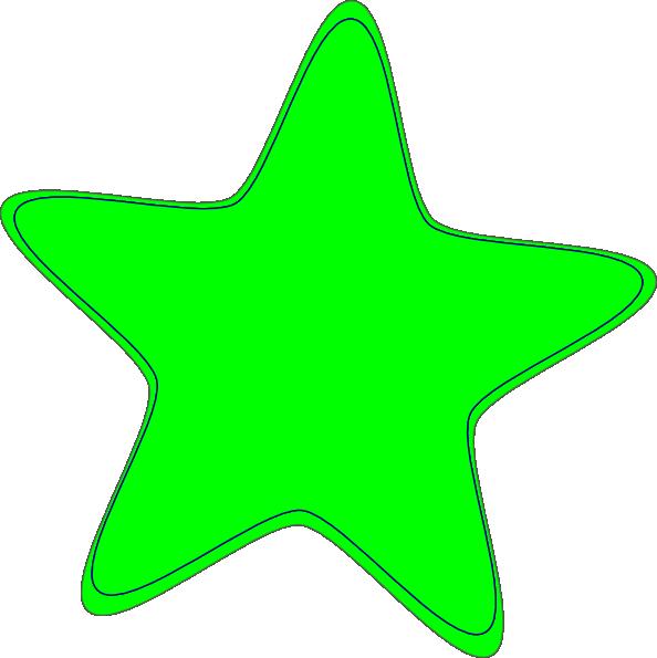 594x595 Green Star Clip Art