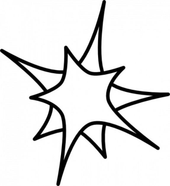 574x626 Star Black And White Free Stars Clipart Download Clip Art