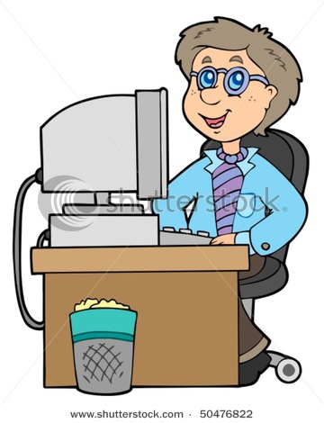 360x470 Cartoon Office Clipart