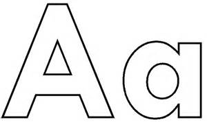 300x178 Letter Aa Clipart Black And White