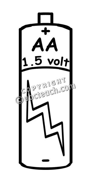 300x600 Aa Batteries Clip Art Cliparts