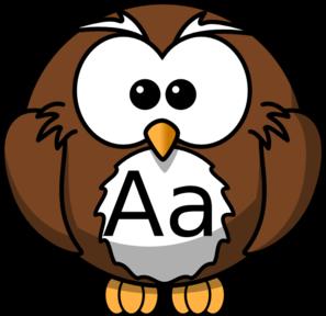 297x288 Aa Owl Clip Art