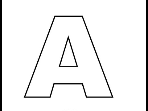 480x360 How To Draw Block Letters