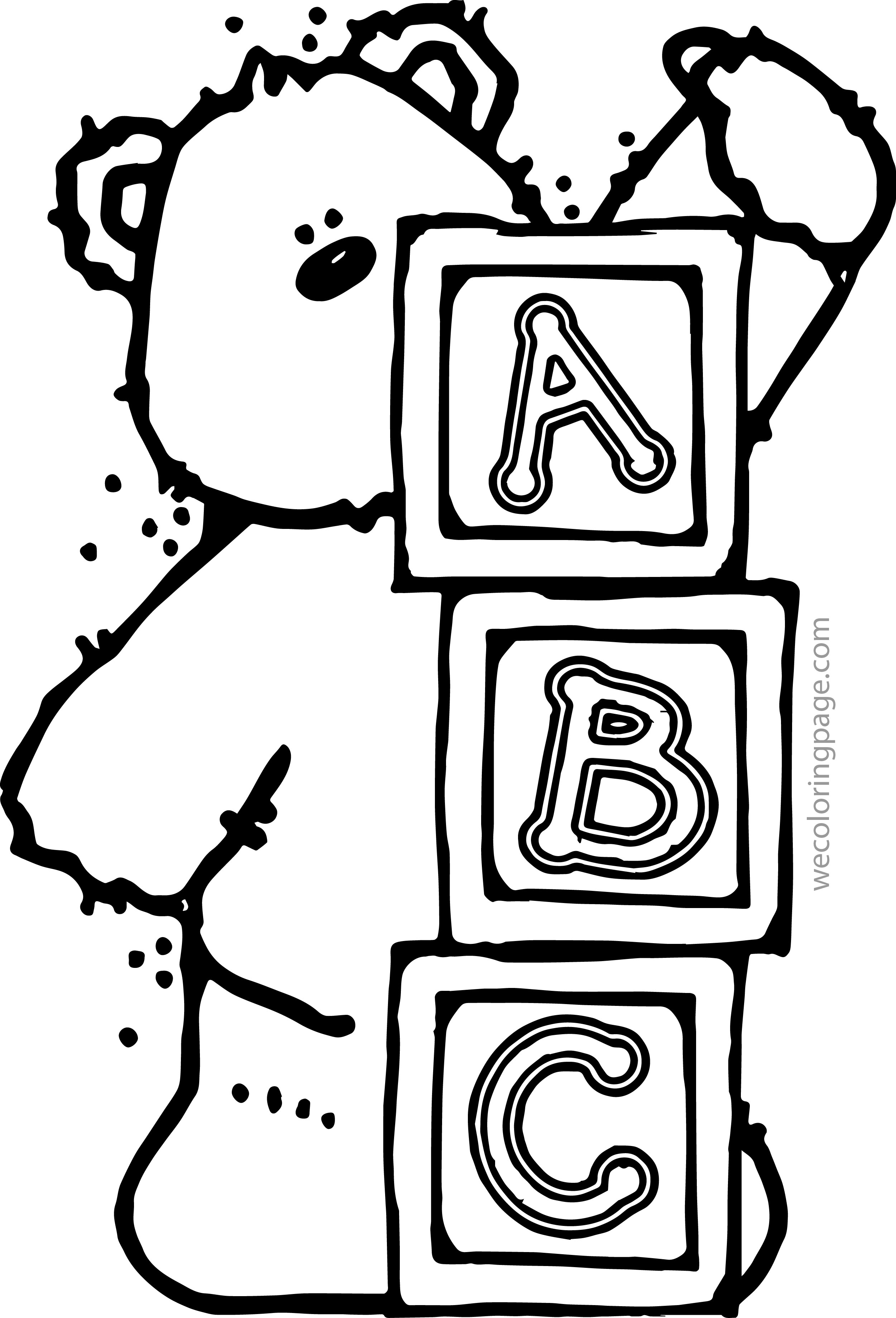 Abc Blocks Drawing Free download best Abc Blocks Drawing