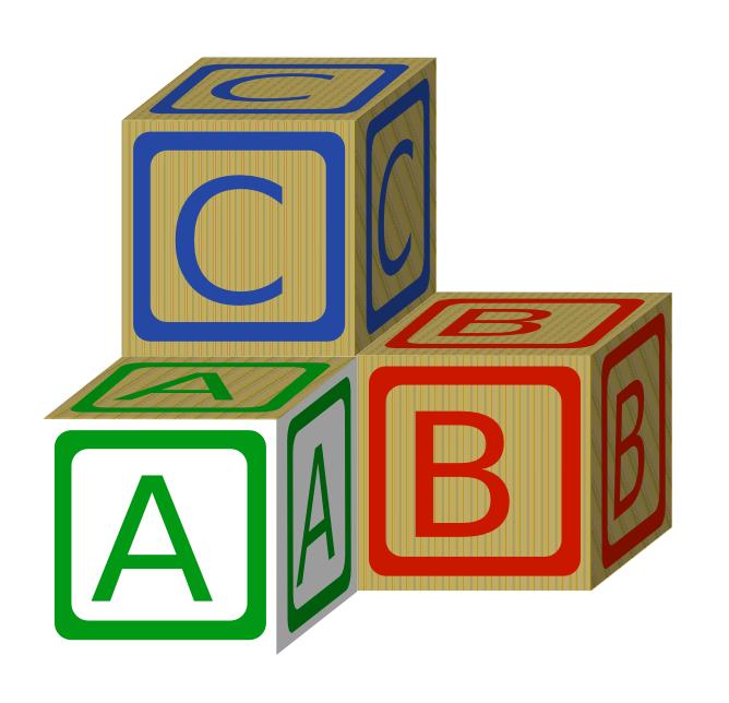 668x644 Toy Clipart Abc Block
