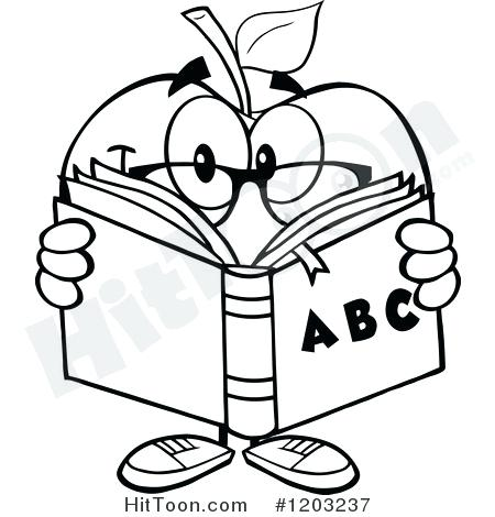 450x470 Abc Clipart Royalty Free Clip Art Illustration Of A Black