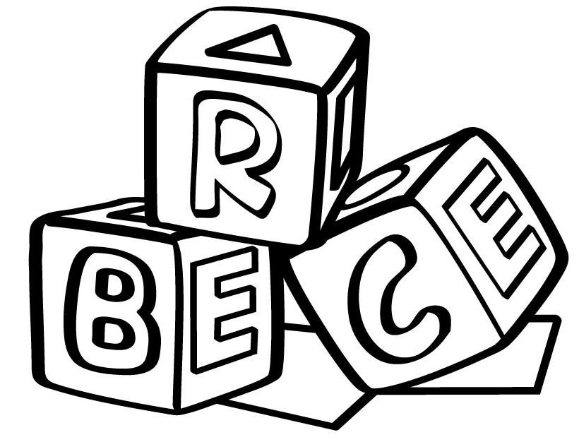 Abc Blocks Drawing Free download best Abc Blocks Drawing