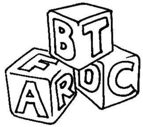 600x535 Abc Building Blocks Clipart
