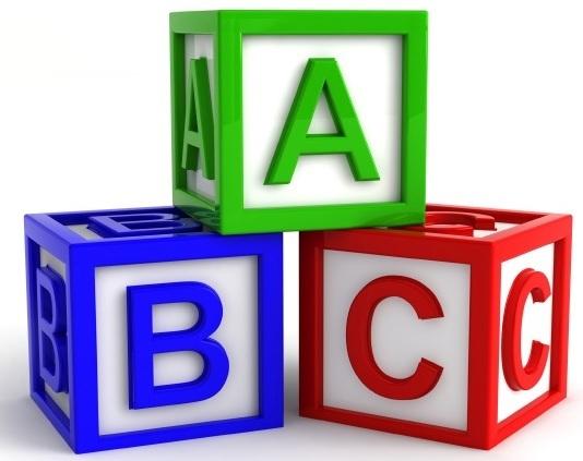 534x423 Alphabet Block Letters Clip Art Letters