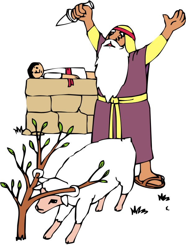 600x790 Abraham And Isaac Clip Art Did You Know That The Genesis Story