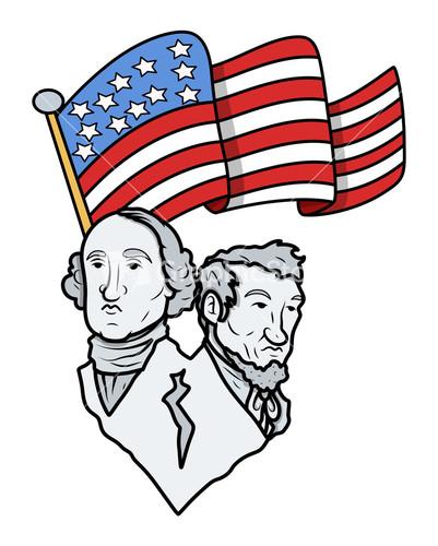 401x500 Abe Lincoln Clip Art George Washington Abraham Lincoln Clipartfest