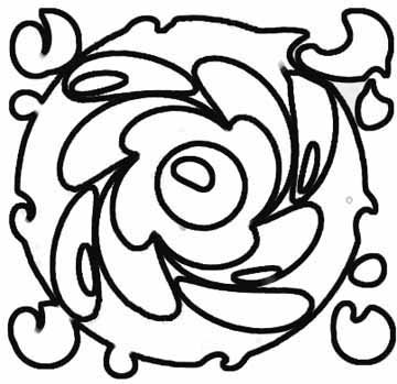 360x349 Abstract Coloring Pages For You To Create Great Art
