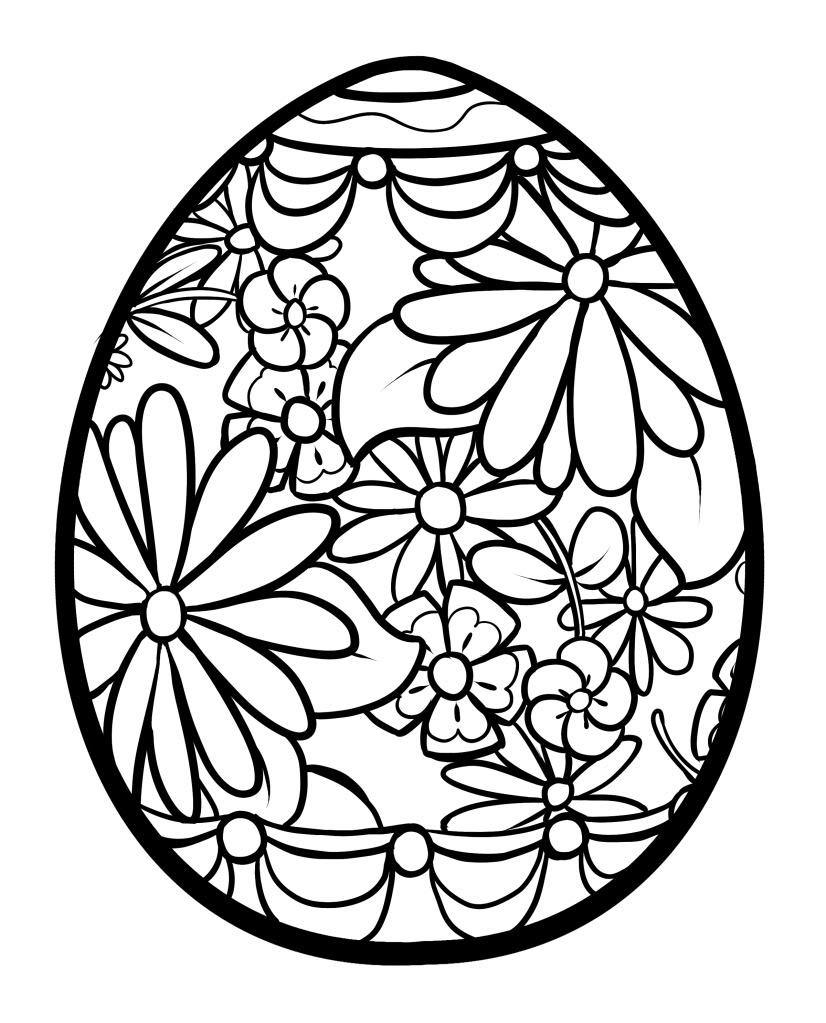826x1023 Abstract Easter Coloring Pages Coloring Sheets