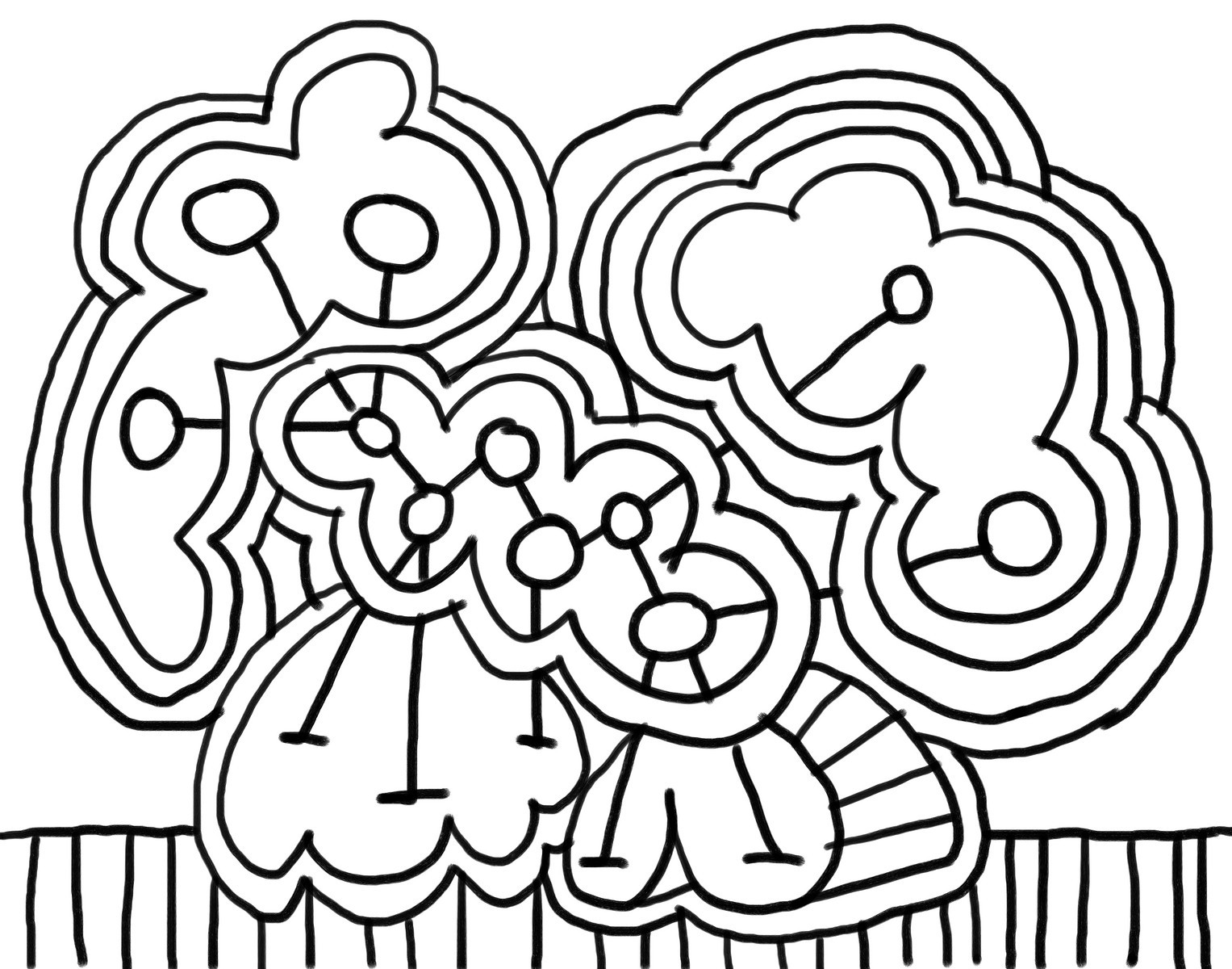 1527x1200 Abstract Art Coloring Pages For Kids
