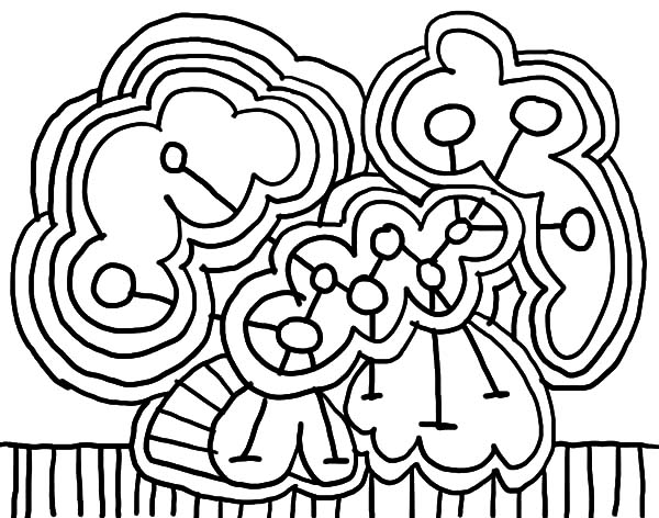600x472 Floral Abstract Coloring Pages Coloring Sky