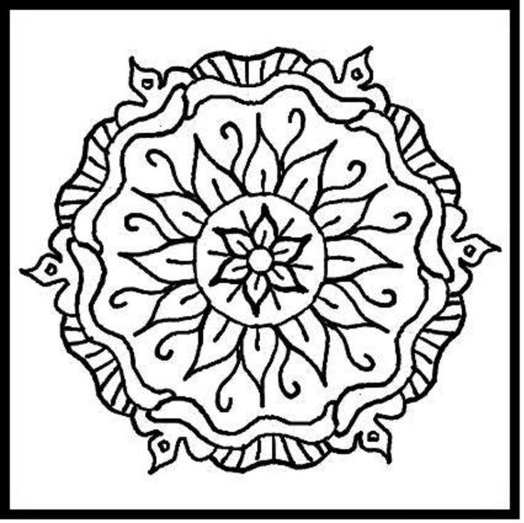 736x735 69 Best Color It Mandala Images Pattern, Do It