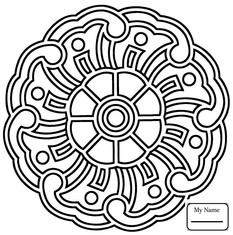 894x902 Coloring Pages Floral Mandalas Abstract Mandala With Flower Arts