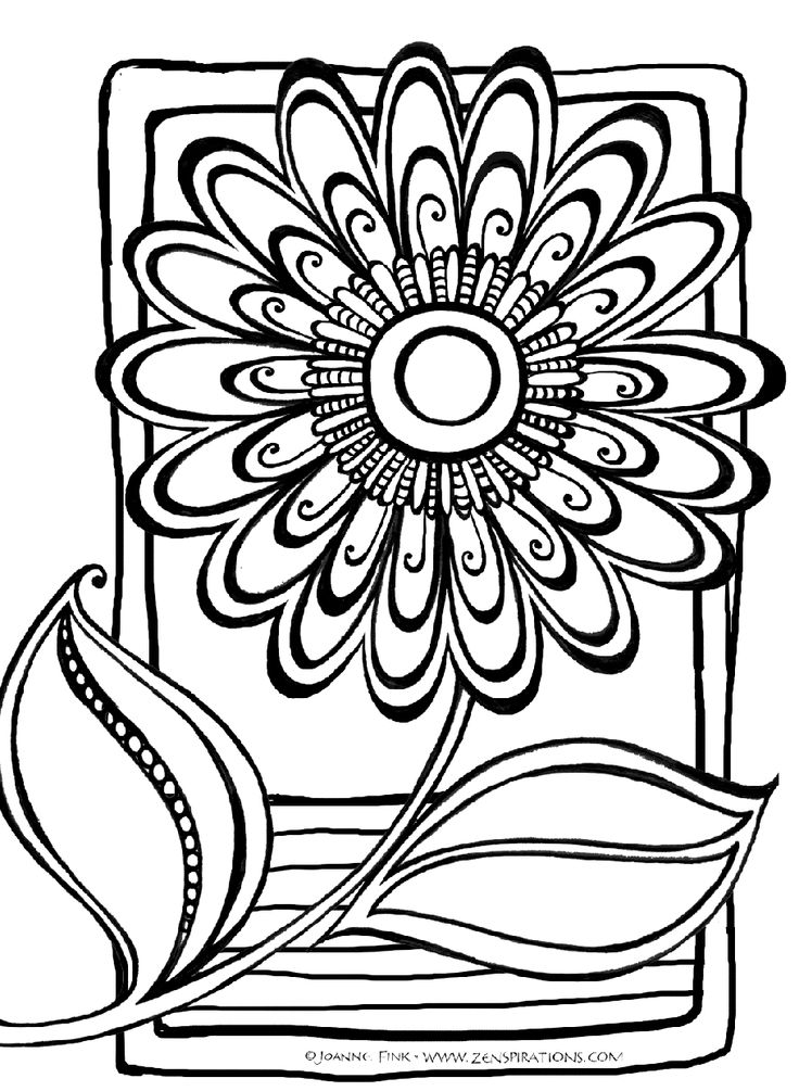 Abstract Coloring Pages | Free download best Abstract ...