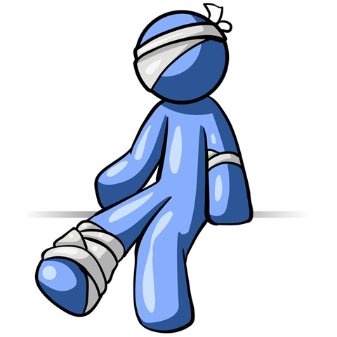 480x480 Injured Clipart