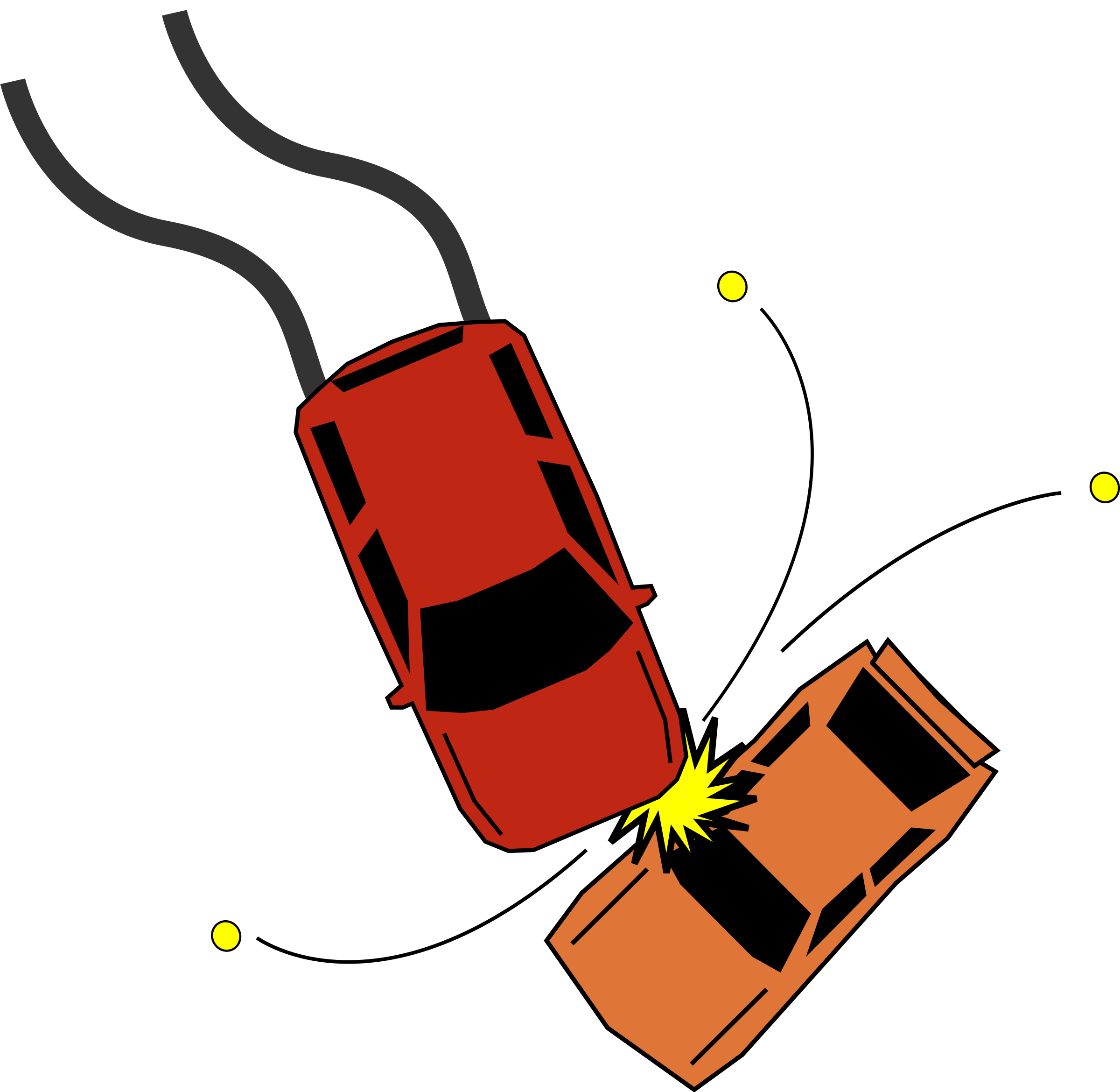 2400x2339 Traffic Clipart Car Accident