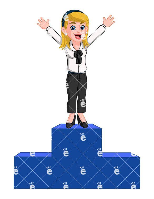 585x755 261 Best Caucasian Businesswoman Clipart Images