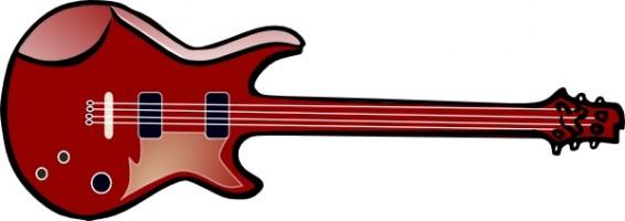 566x200 Acoustic Guitar Band Clipart Free Clip Art Images Image