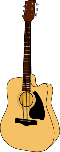234x590 Free To Use Amp Public Domain Guitar Clip Art