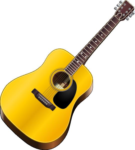 540x600 Guitar Clip Art