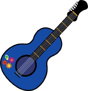 340x349 Guitar Clipart