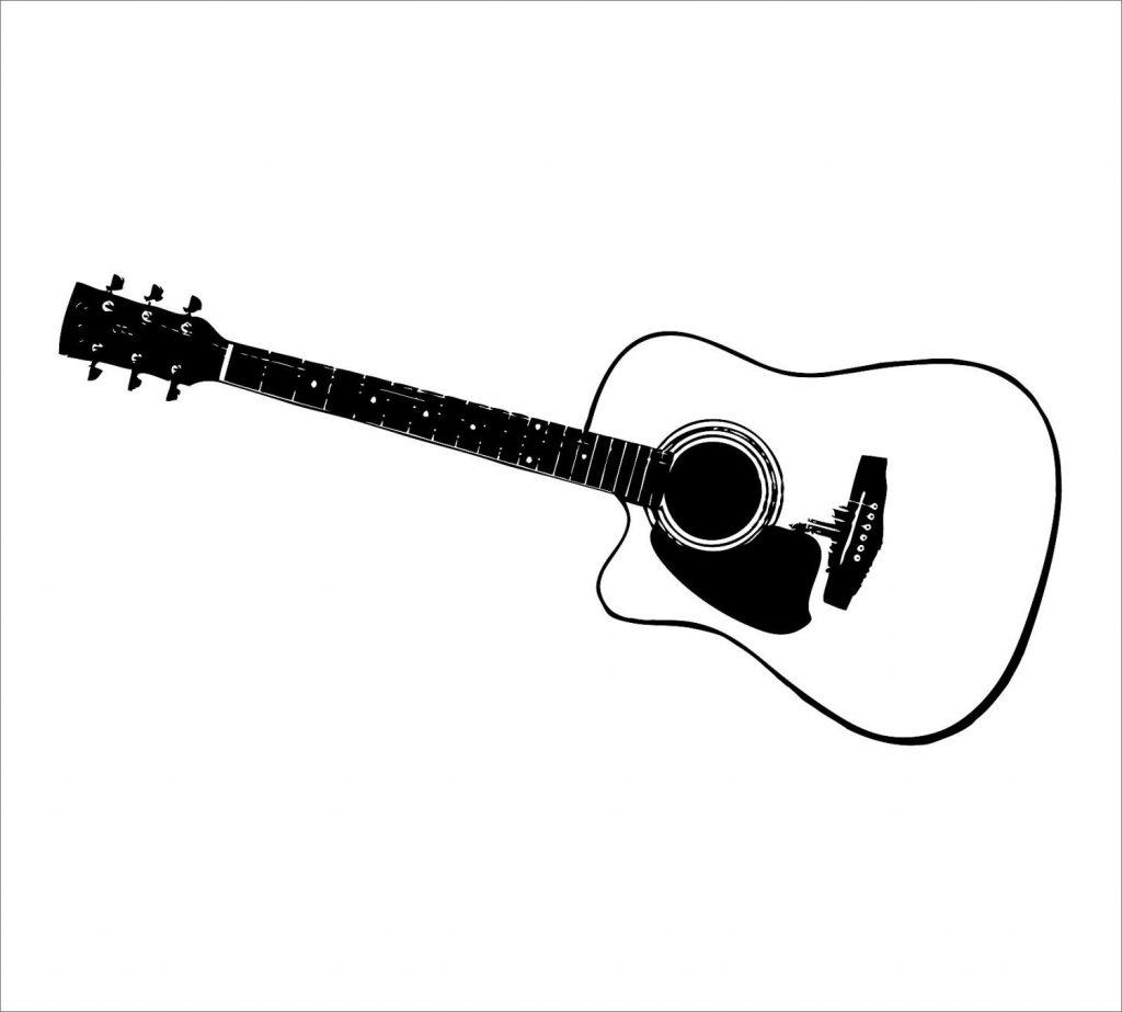 1024x923 Top 10 Guitar Clip Art Cdr