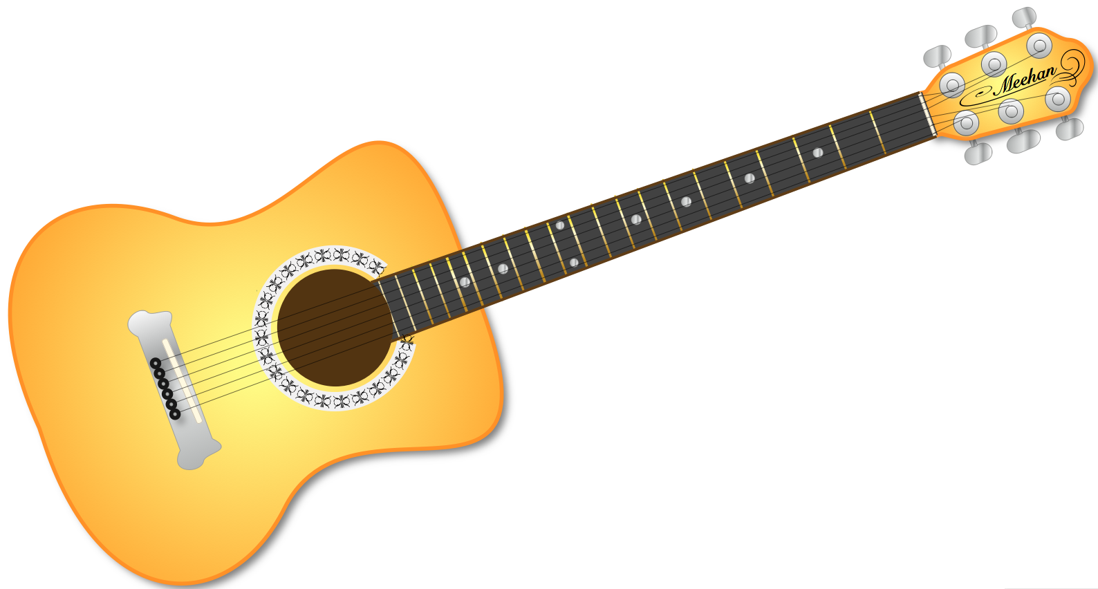 1588x852 Acoustic Guitar Clip Art Many Interesting Cliparts