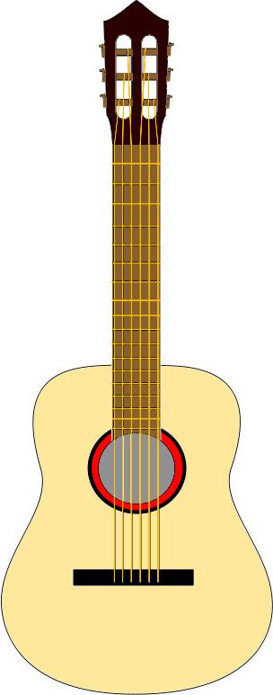 304x773 Acoustic Guitar Clip Art Cliparts