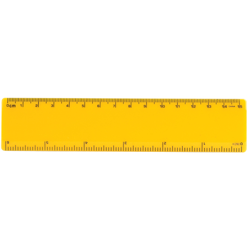 500x500 6 Inch Ruler Clipart