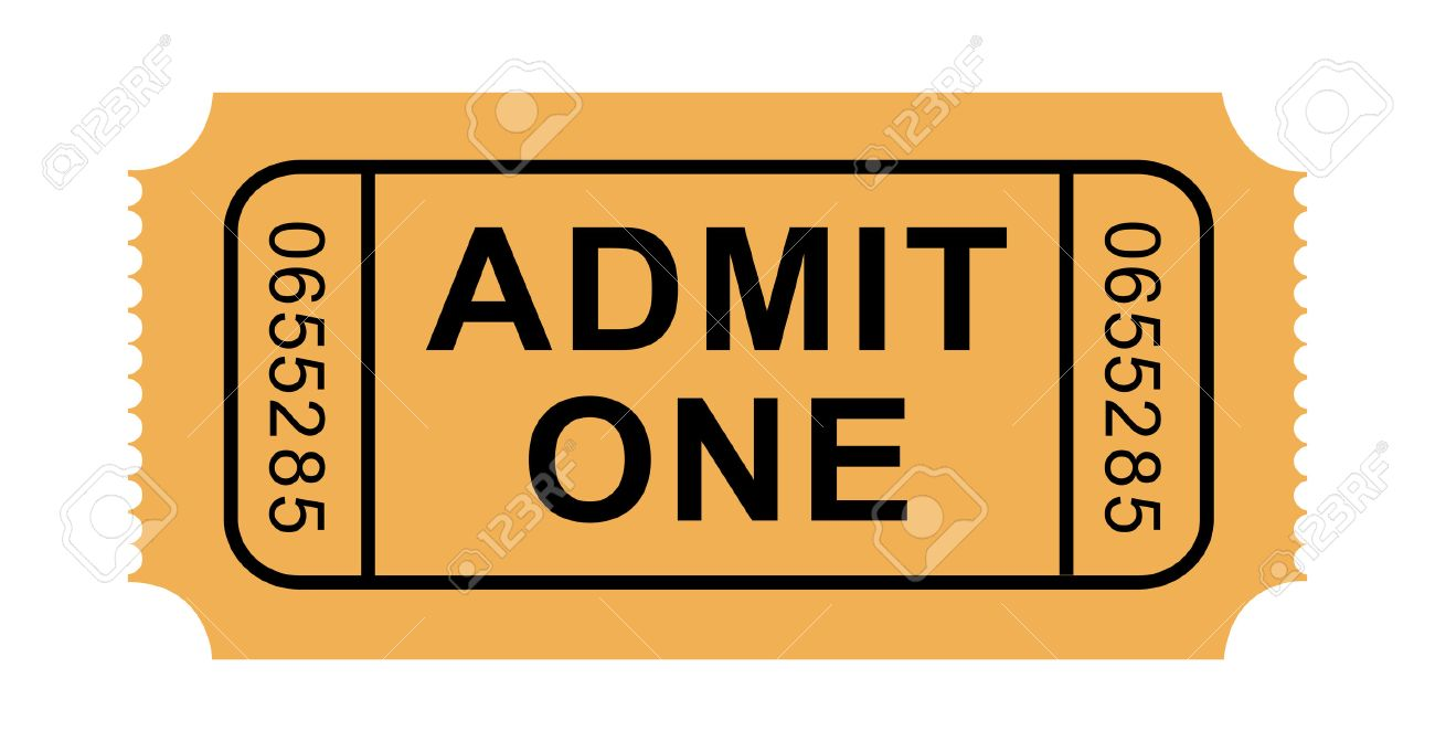 Admission Ticket Cliparts