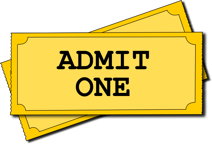 693x471 Admit One Ticket Template Clipart Panda