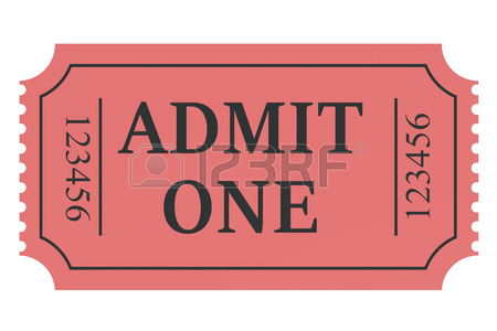 450x300 Admit One Stock Photos Amp Pictures. Royalty Free Admit One Images