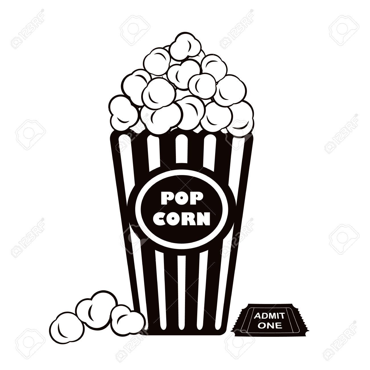 1300x1300 Popcorn Clipart One