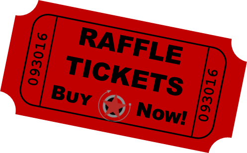 497x309 Red Clipart Raffle Ticket