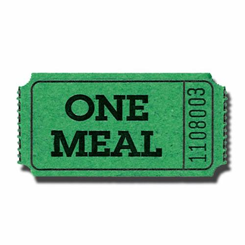 500x500 Meal Ticket Template Free