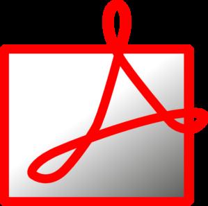299x297 Adobe Reader Clip Art