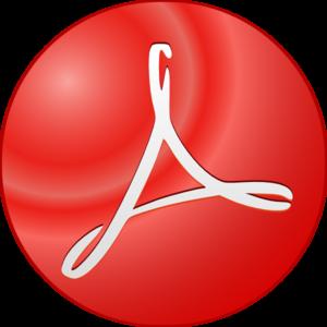 300x300 Adobe Acrobat Symbol Clip Art