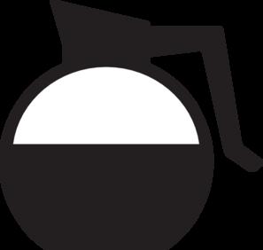 297x282 Coffee Pot Clipart