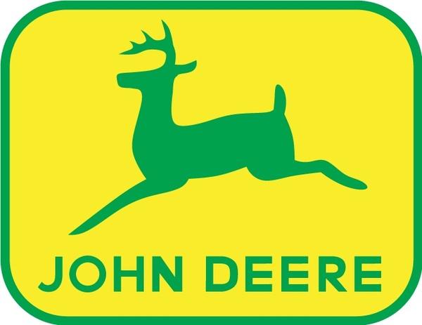 600x463 John Deere Logo2 Free Vector In Adobe Illustrator Ai Clipart
