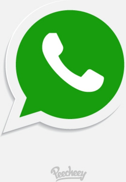 417x600 Whatsapp Icon Free Vector In Adobe Illustrator Ai ( Ai ) Vector