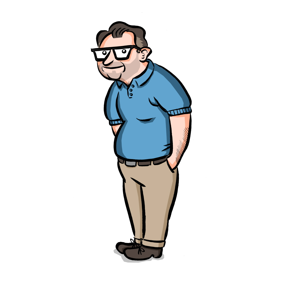 1200x1200 Middle Aged Man Clipart