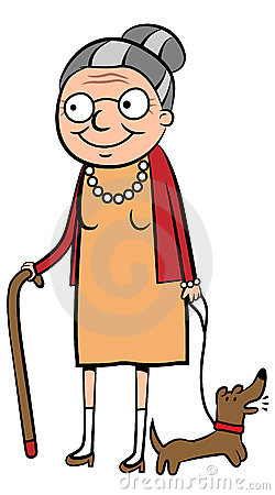 250x450 Women Clipart Old Age