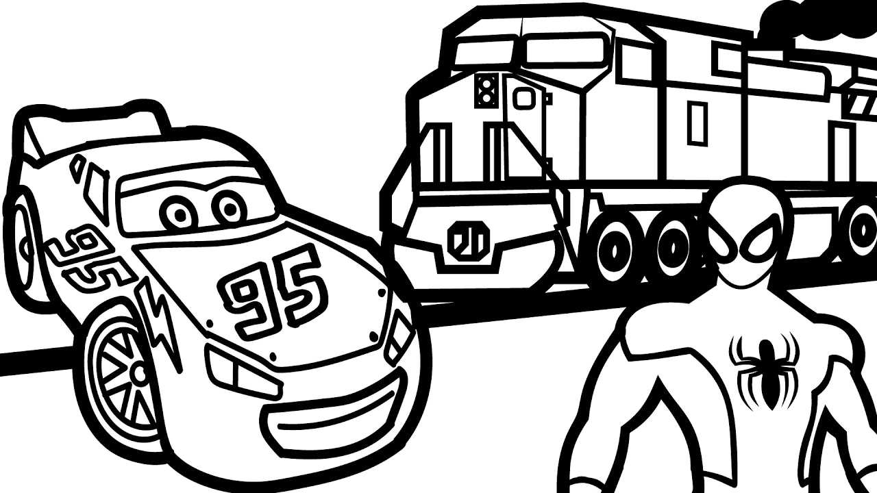 1280x720 Film Mcqueen Cars Advanced Coloring Pages Mcqueen Coloring Dora